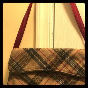 GAP Bags - Wool plaid Gap baguette.